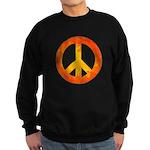 Peace on Fire Sweatshirt (dark)