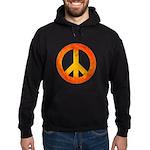 Peace on Fire Hoodie (dark)