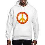 Peace on Fire Hooded Sweatshirt