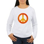 Peace on Fire Women's Long Sleeve T-Shirt