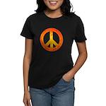 Peace on Fire Women's Dark T-Shirt