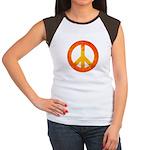 Peace on Fire Women's Cap Sleeve T-Shirt