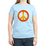 Peace on Fire Women's Light T-Shirt