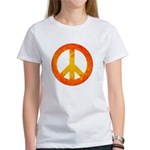 Peace on Fire Women's T-Shirt