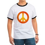 Peace on Fire Ringer T