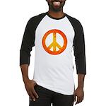 Peace on Fire Baseball Jersey