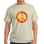 Peace on Fire Light T-Shirt
