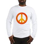 Peace on Fire Long Sleeve T-Shirt