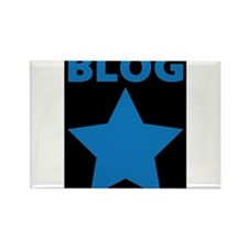 Blog Star Blue - Mommy Blog - Daddy Blog Rectangle