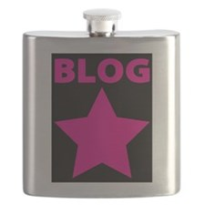 Blog Star Pink - Mommy Blog - Daddy Blog Flask