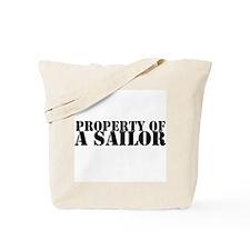 Property of a Sailor Tote Bag