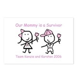 Pink Ribbon - Kenzie & Karsten Postcards (Package