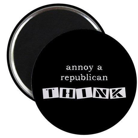 "Annoy A Republican 2.25"" Magnet (100 pack)"
