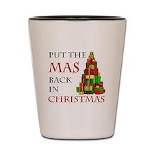 Mas Christmas Shot Glass