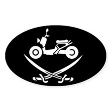 Ruckus Pirate Decal Decal