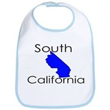 South California Blue State Bib