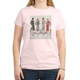 Paris Fashion Flapper Women Art T-Shirt