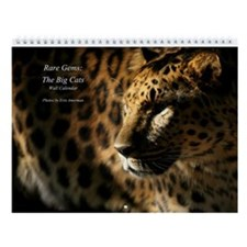 Rare Gems: The Big Cats Wall Calendar