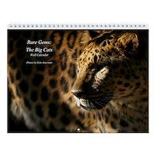 Rare Gems: The Big Cats Wall Calendar