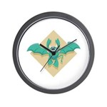 Gargoyle Bat Wall Clock
