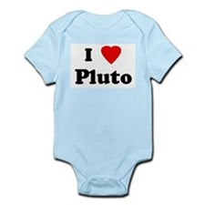 I Love Pluto Infant Creeper