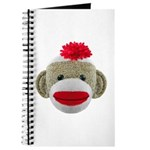 Sock Monkey Face Journal
