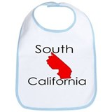 South California Red State Bib