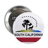 "Flag of South California 2.25"" Button (10 pack)"