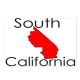 South California Red State Postcards (Package of 8