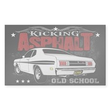 Kicking Asphalt - Demon Decal