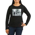A is For Neysa Women's Long Sleeve Dark T-Shirt