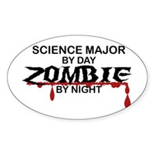 Science Major Zombie Decal