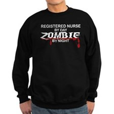 Registered Nurse Zombie Sweatshirt
