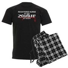Registered Nurse Zombie Pajamas