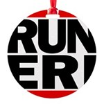 RUN ERI Round Ornament