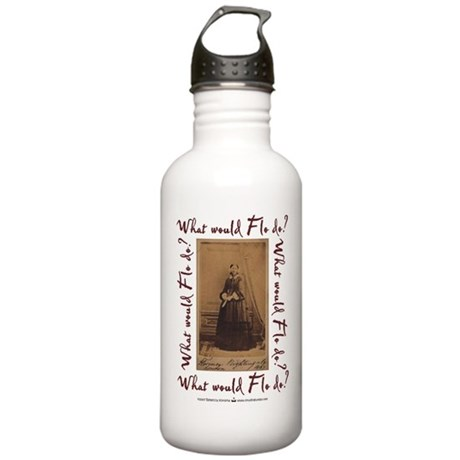 What would Flo Do? Stainless Water Bottle 1.0L