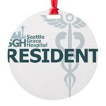 Seattle Grace Resident Round Ornament