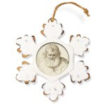 WHEE Euro Oval Hexagon Ornament