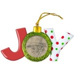 Cool Whee! Exclamation Point Round Ornament