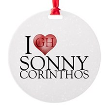 I Heart Sonny Corinthos Round Ornament