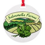 Salmonella Farms - Cilantro Round Ornament