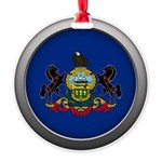 Round Flag - Pennsylvania Round Ornament