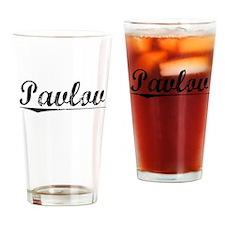 Pavlov, Aged, Drinking Glass