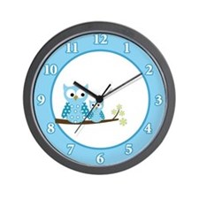 Unique Hoot Wall Clock