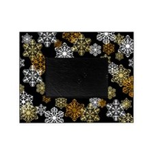 Winter Snowflake Holiday Photo Picture Frame