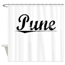 Pune, Aged, Shower Curtain
