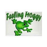 Feeling Froggy Rectangle Magnet