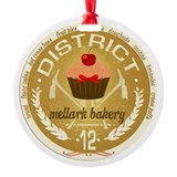 Mellark Bakery Round Ornament
