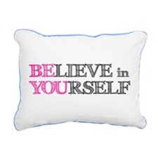 Cute Motivation Rectangular Canvas Pillow