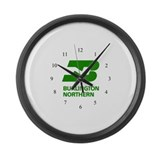 Cute Logo Large Wall Clock